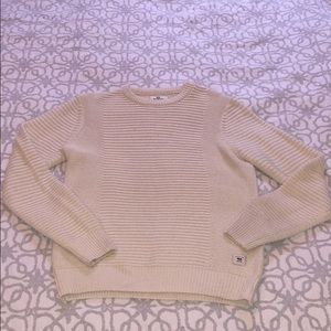 Bellfield Made in Britain 🇬🇧 Wool Cream Sweater